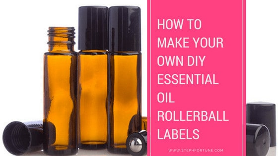 How to Make Your Own DIY Essential Oil Rollerball Labels