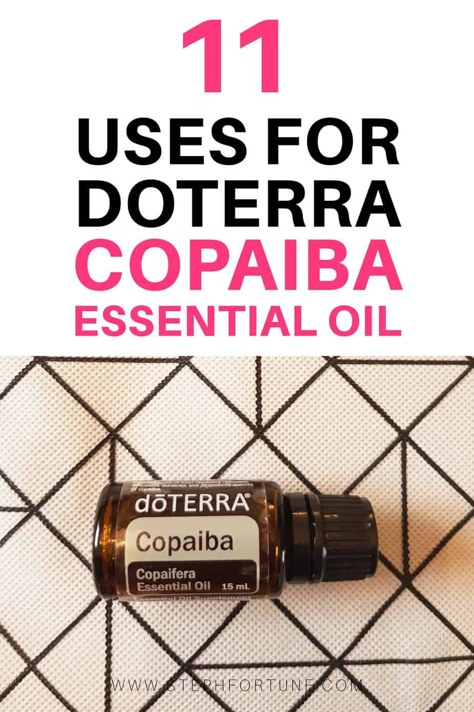 11 Uses for doTERRA Copaiba Essential Oil