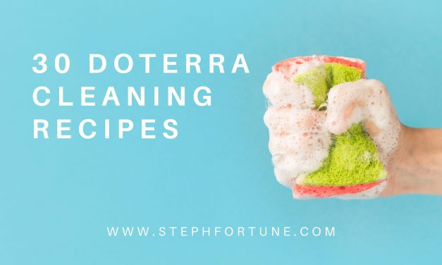 30 doTERRA Essential Oil Cleaning Recipes