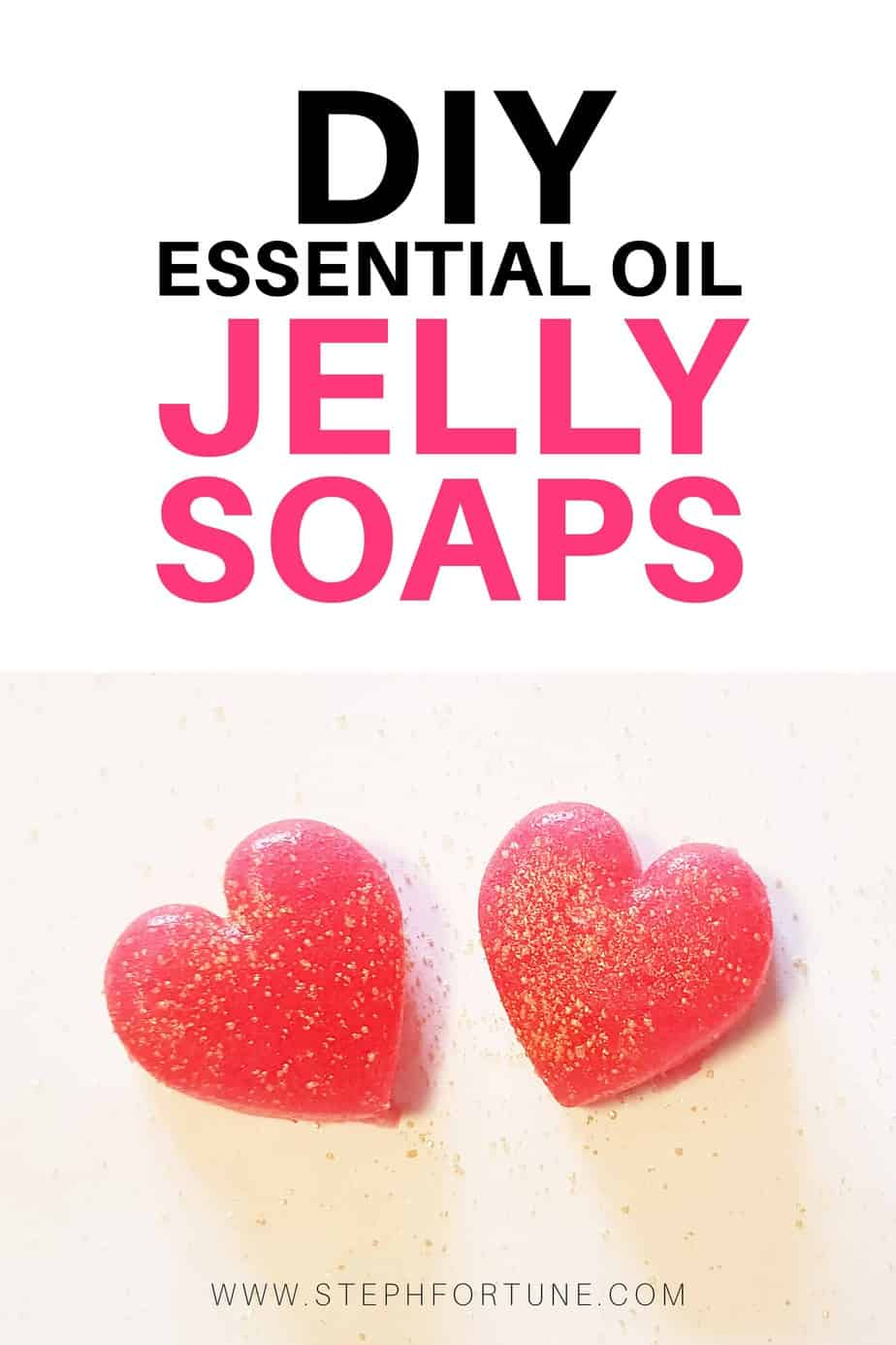 DIY Essential Oil Jelly Soaps for bathtime fun!