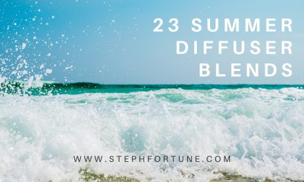 23 Summetime Diffuser Blends