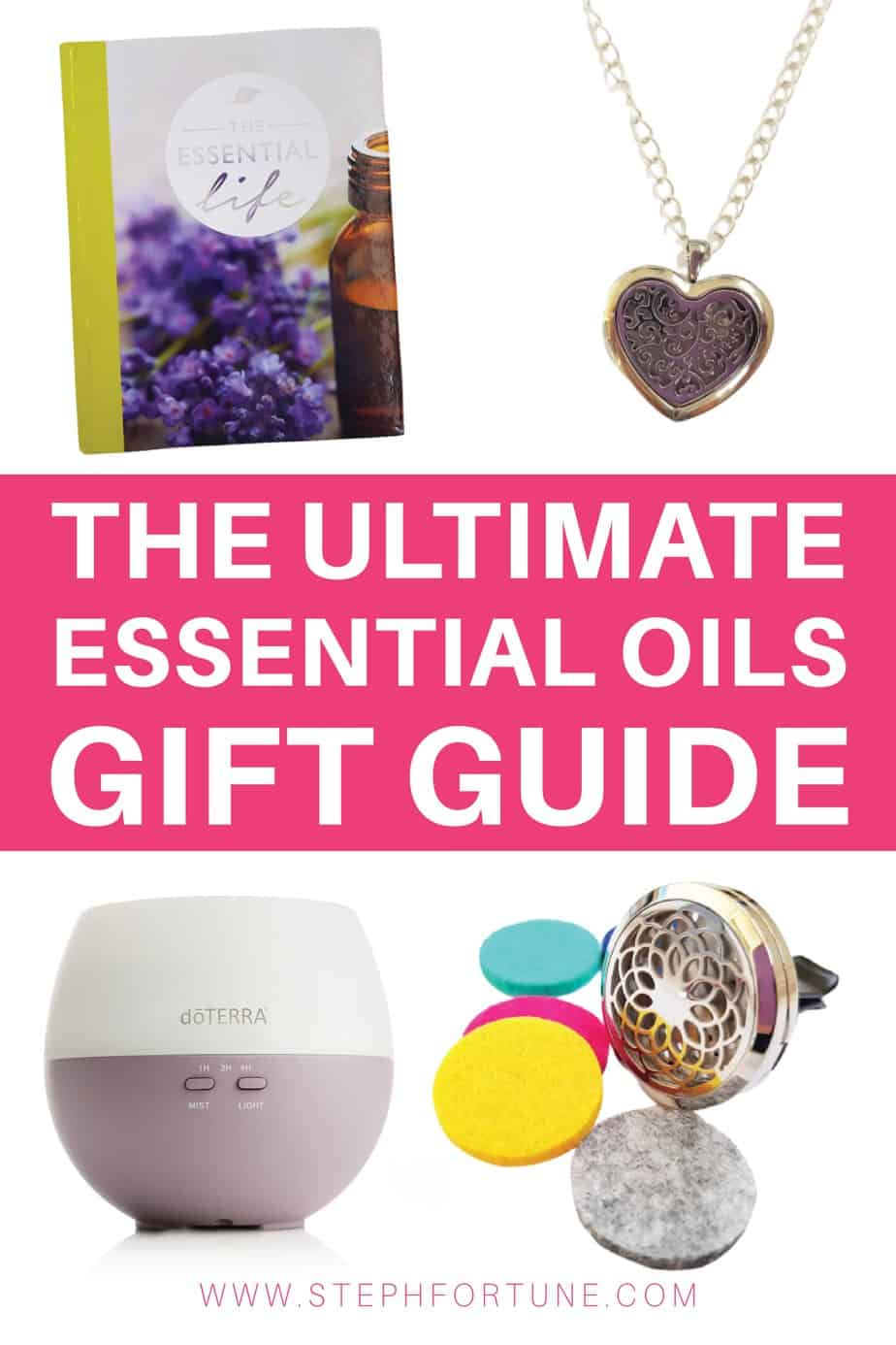 The Ultimate Essential Oils Gift Guide - Books, Jewellery, Tshirts, mugs and lots of other awesome ideas of gifts you can give to essential oil lovers