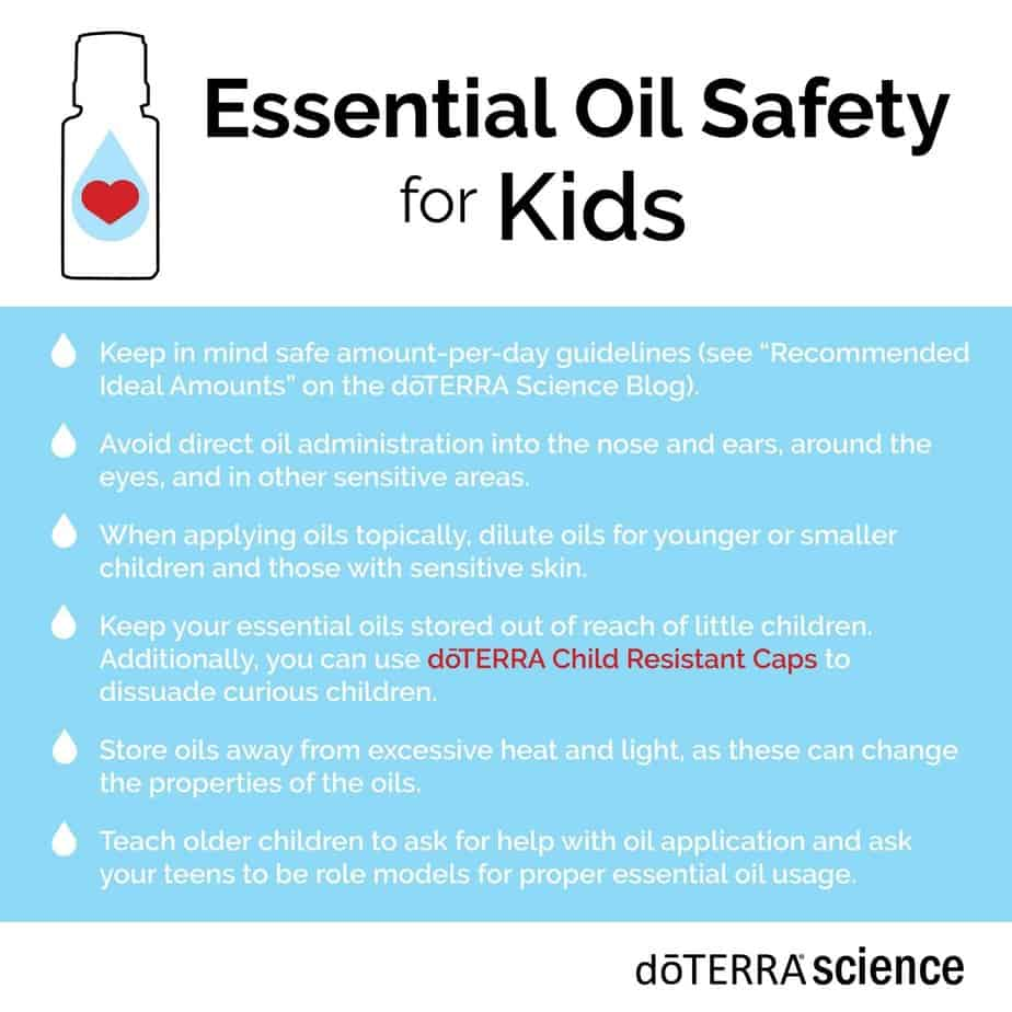 Essential Oils Safety Guidelines for Kids