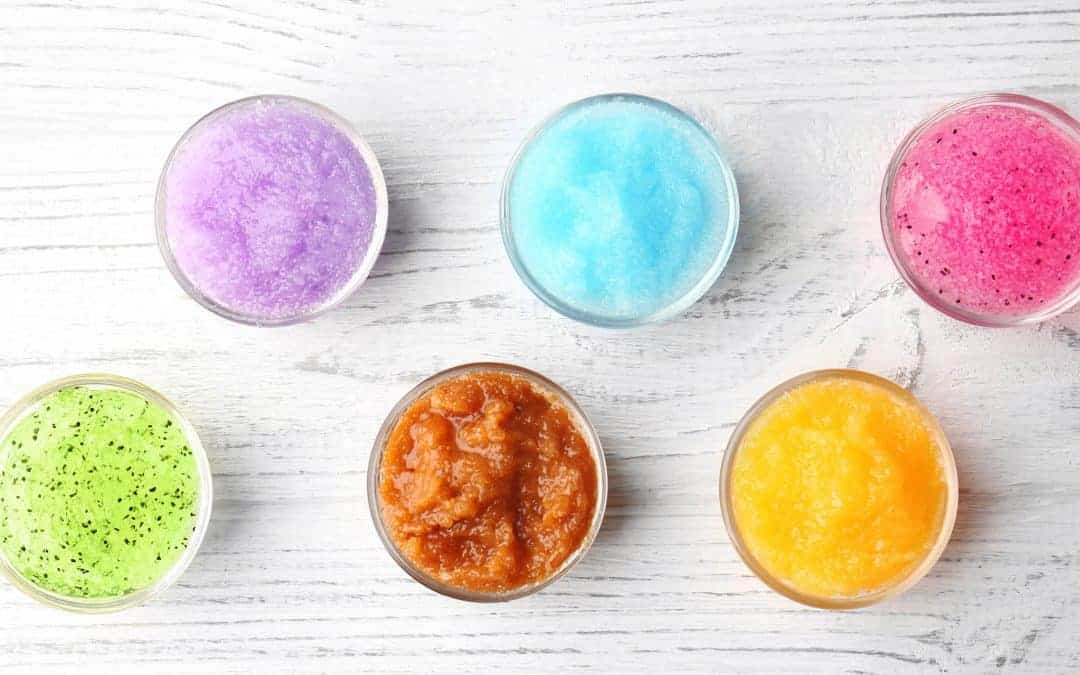 The Best Natural Homemade Scrubs + Printable Labels